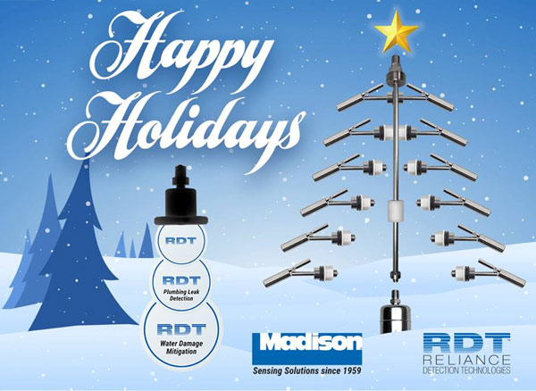 Happy Holidays from Madison Company