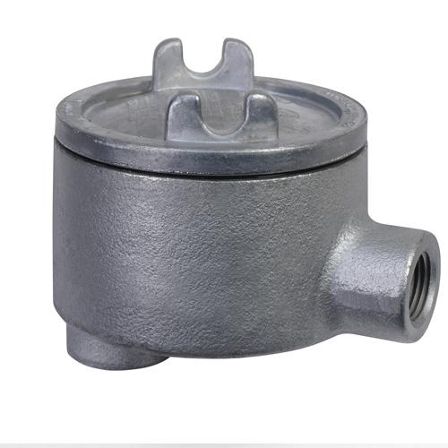 Junction Box, Cast Iron, 3'' Round, Explosion Proof