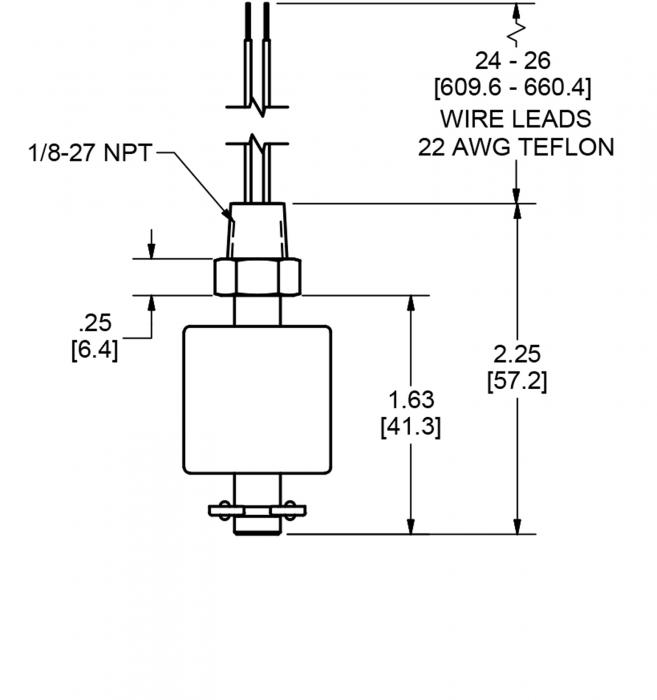 diagram of a float switch schematic miniature float switch  pbt and buna  1 8  npt madison company  miniature float switch  pbt and buna  1