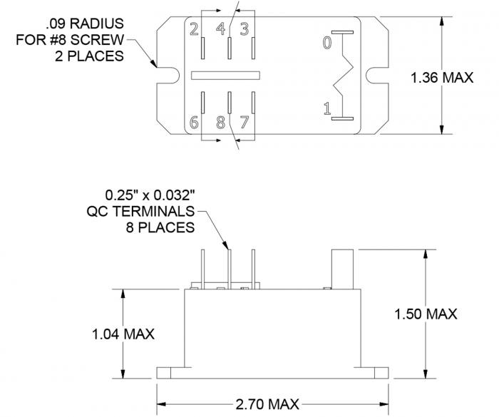 relay, 220vac coil, dpdt madison company Relay Connection Diagram