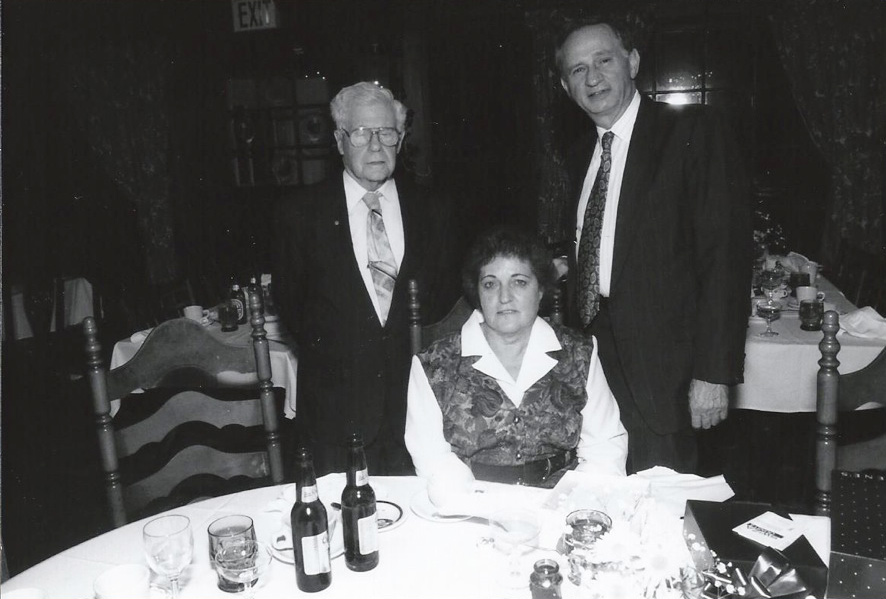 (L to R) Dennison MacDonald, Elaine Spencer, Bill Schickler